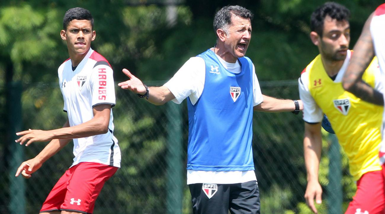 Sao Paulo FC manager Juan Carlos Osorio
