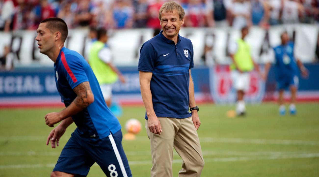Jurgen Klinsmann, Clint Dempsey and the USA will face Mexico at the Rose Bowl in a CONCACAF Cup playoff