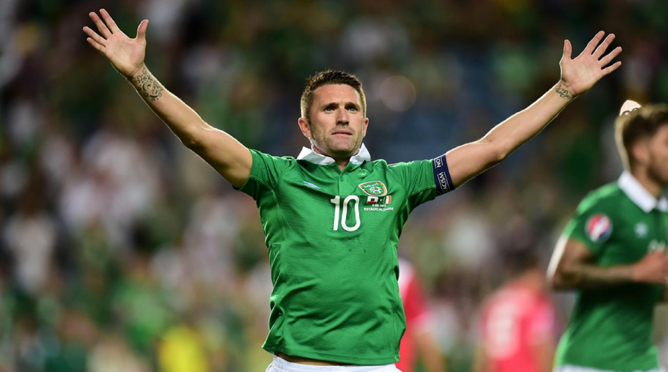 Ireland, LA Galaxy star Robbie Keane
