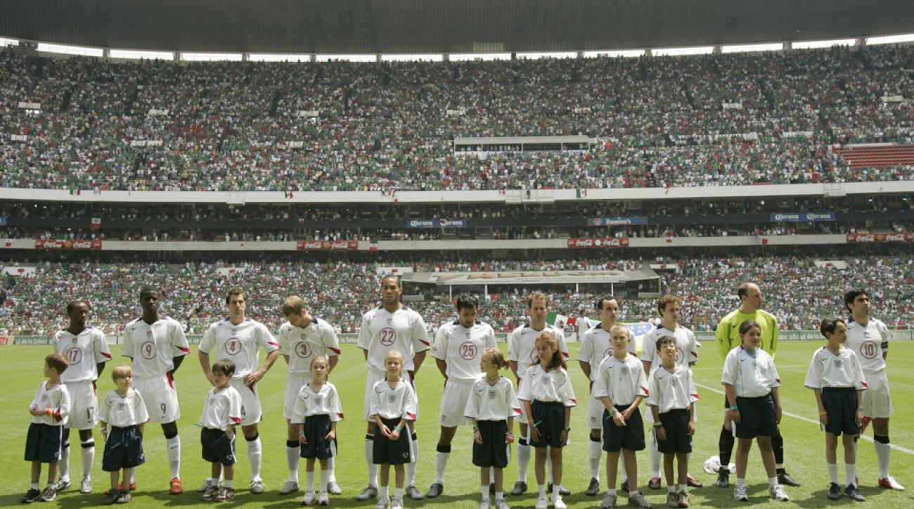 USA vs. Mexico, Estadio Azteca, 2005