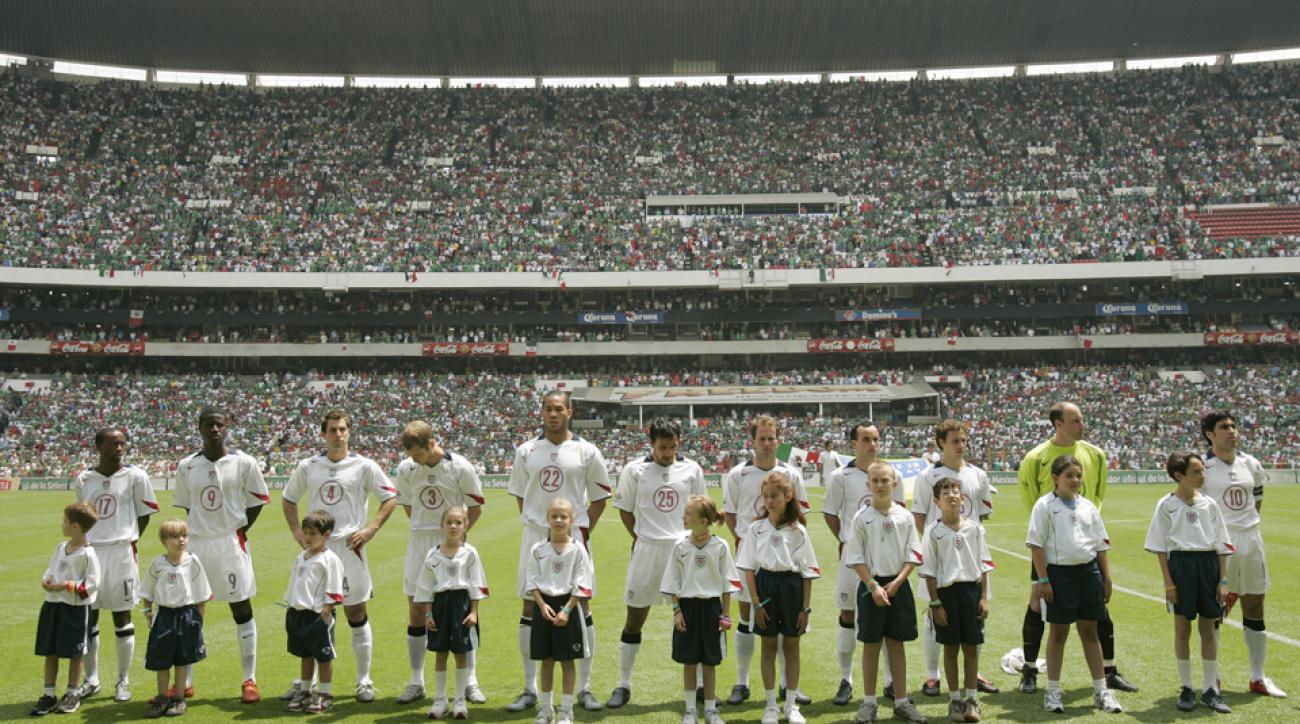 USA vs. Mexico, Estadio Azteca, 2005