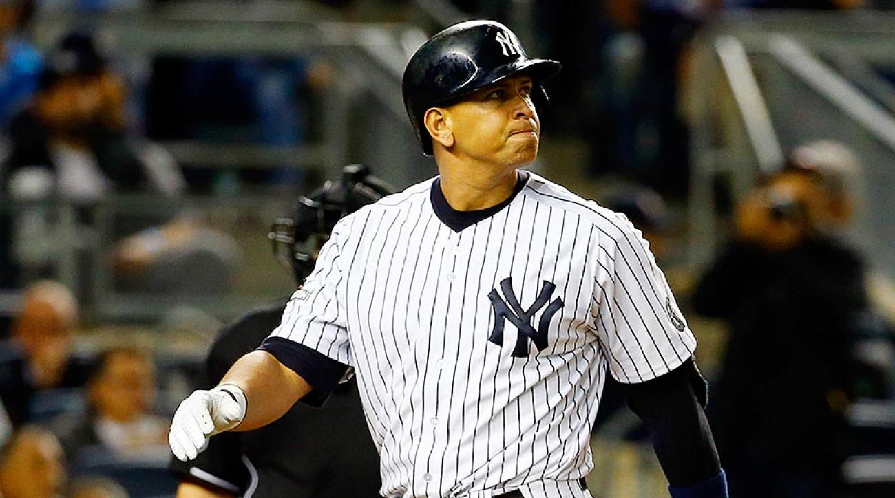 Alex Rodriguez Yankees