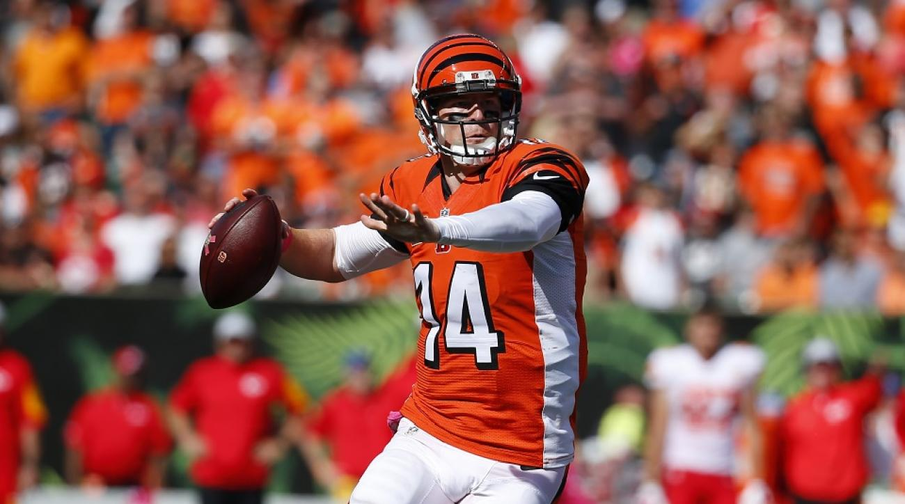 Andy Dalton leads a surprising group of QBs atop the NFL stats lists. Will this trend continue?