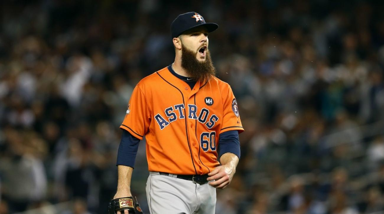 Houston Astros' Dallas Keuchel takes on Twitter troll