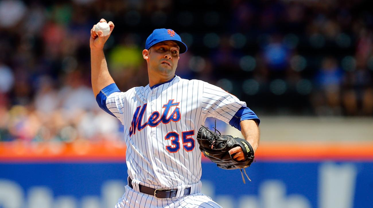 Mets pitcher Dillon Gee is now a free agent