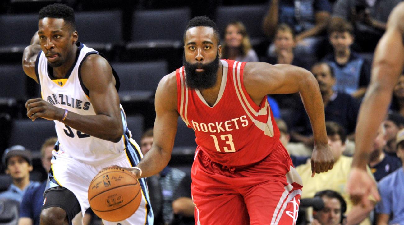 Nba rumors, preseason news James Harden Houston Rockets