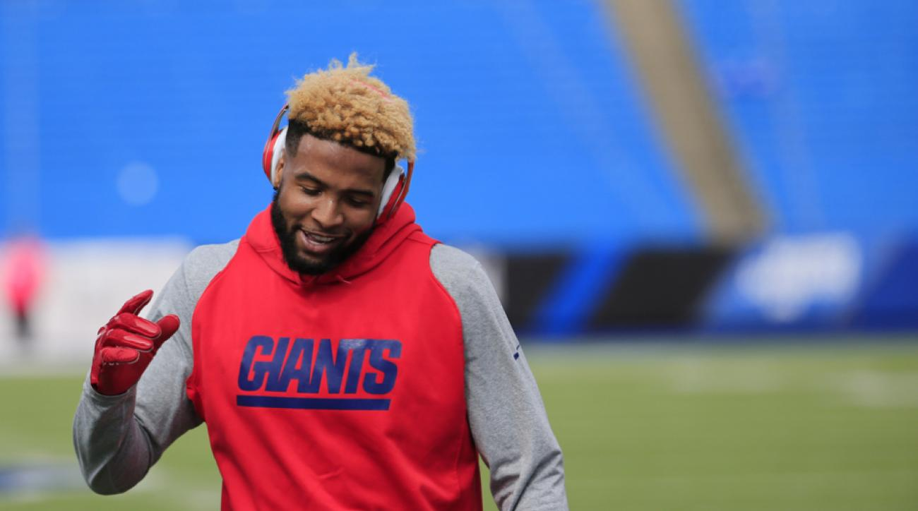 odell beckham jr new york giants fined vs bills