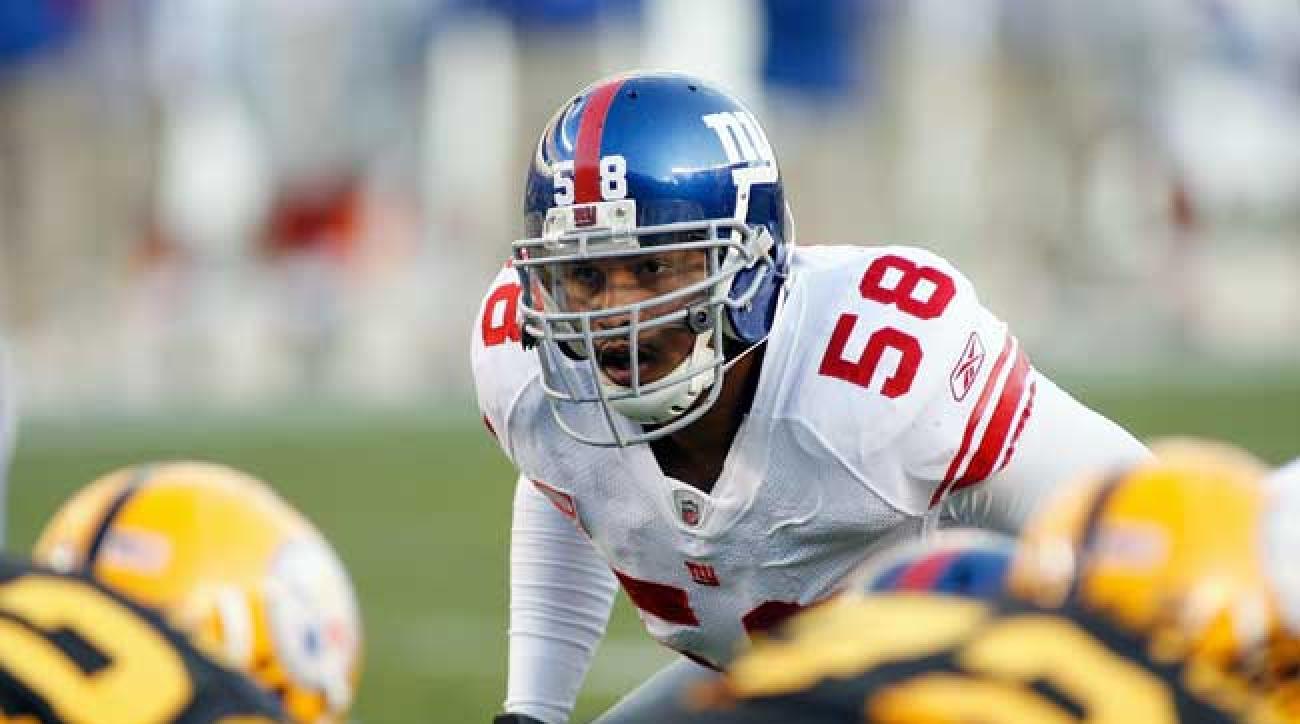 Former New York Giants middle linebacker Antonio Pierce. (Rick Stewart/Getty Images)