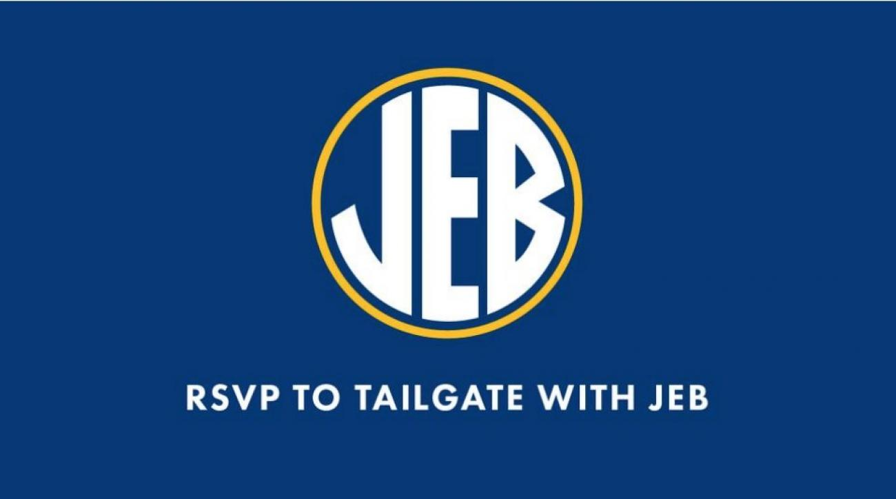 Jeb Bush remade the SEC logo with his name