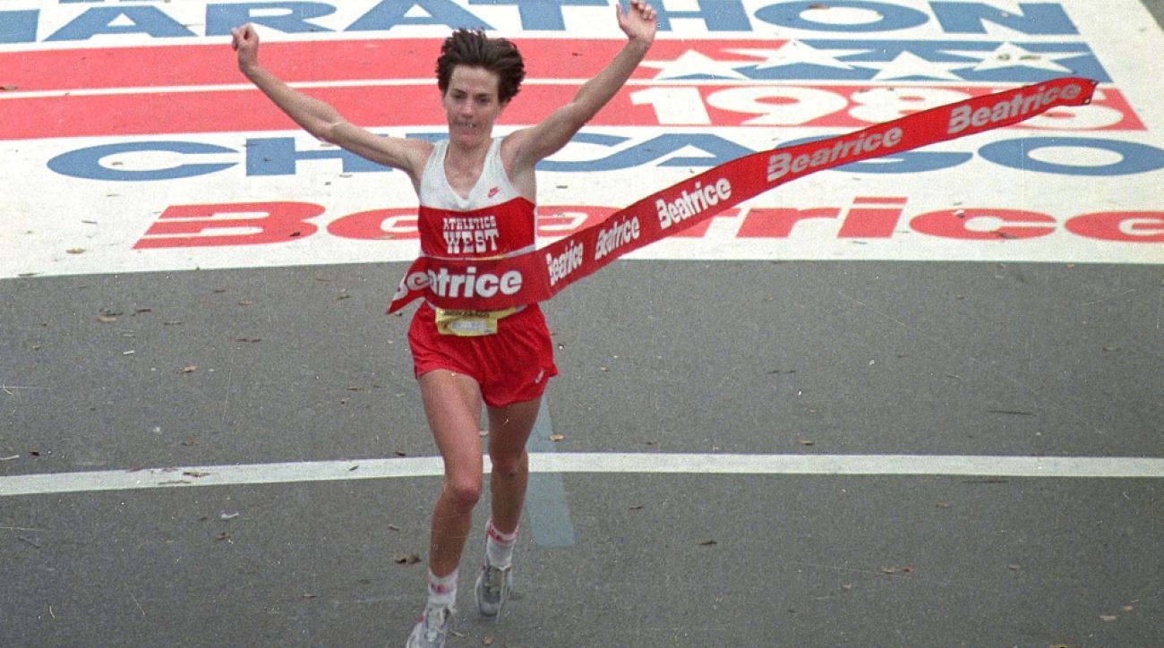 joan benoit samuelson chicago marathon 2015 1985