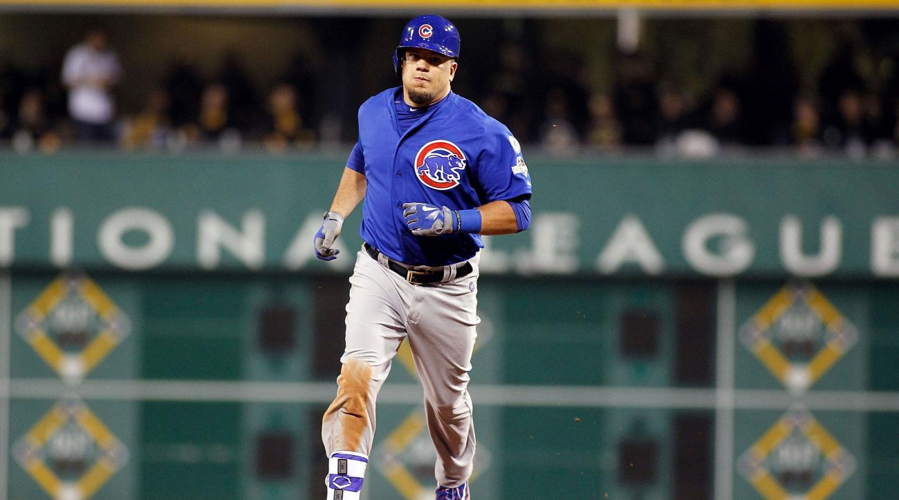 kyle schwarber cubs pirates playoffs called shot