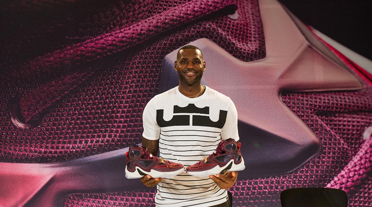 e4a00af178c LeBron James asks Nike for sleeker sneaker on LeBron 13