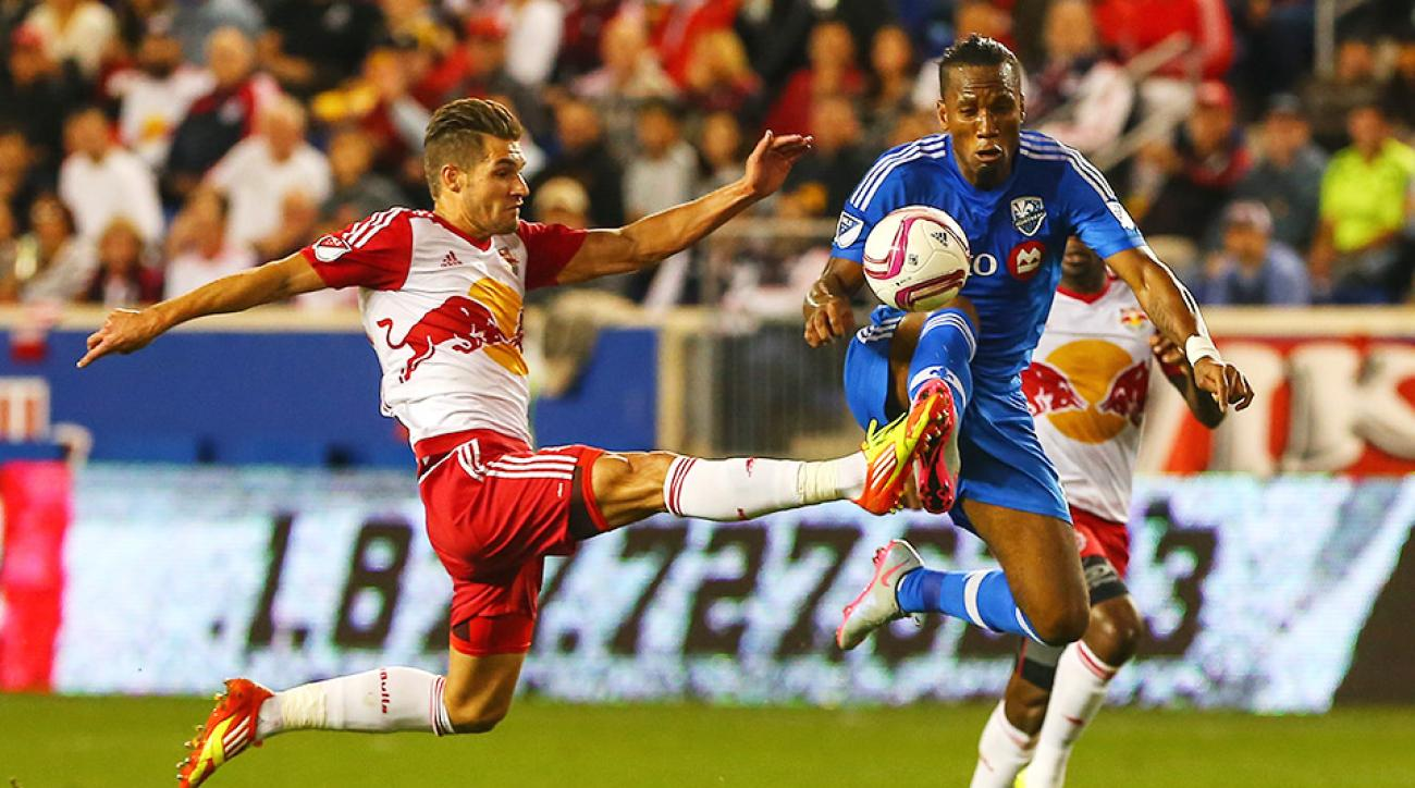 Red Bulls defeated the Impact on Wednesday night.