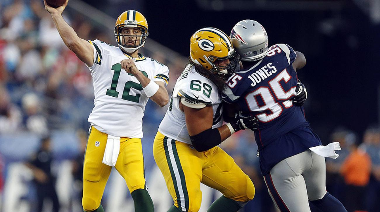 NFL Week 5 preview: Aaron Rodgers vs. Tom Brady; O-line roundtable
