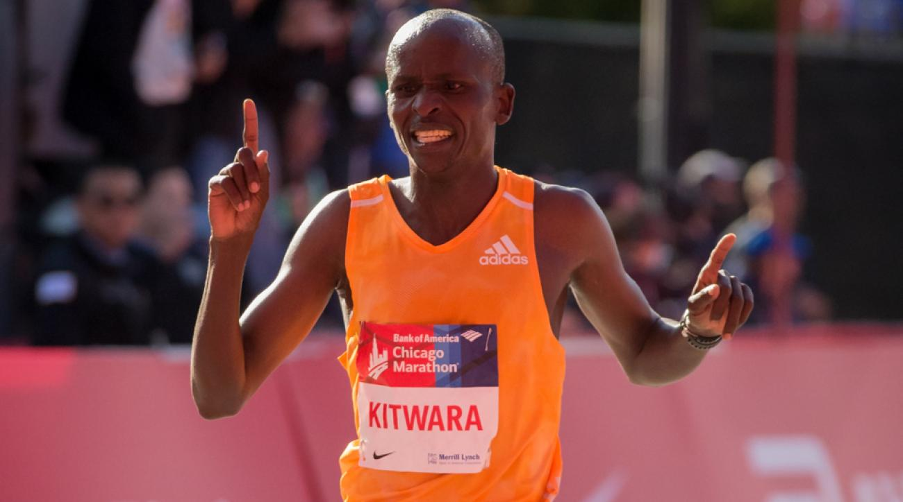 2015 chicago marathon elite mens race preview sammy kitwara