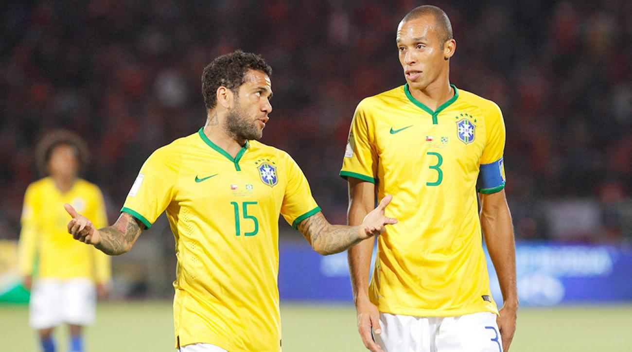 Brazil lost to Chile in World Cup qualifying.