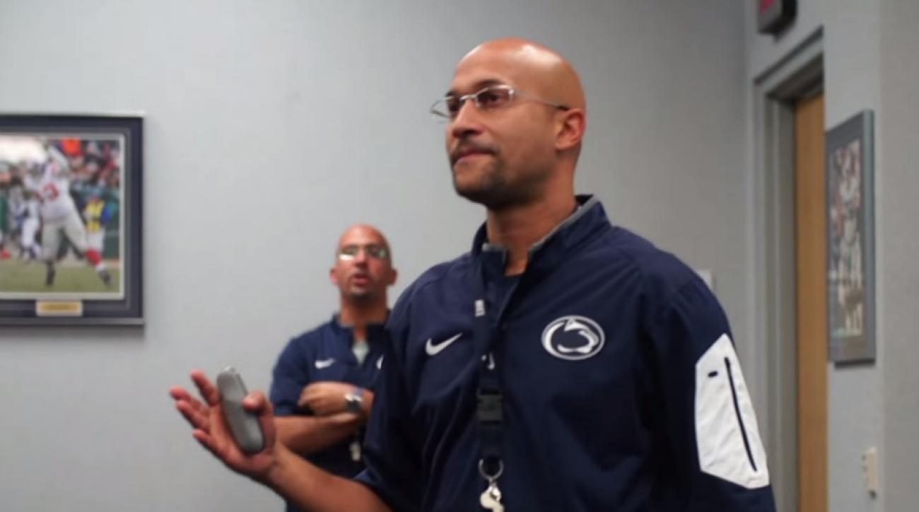 Penn State's James Franklin impersonated by Keegan-Michael Key