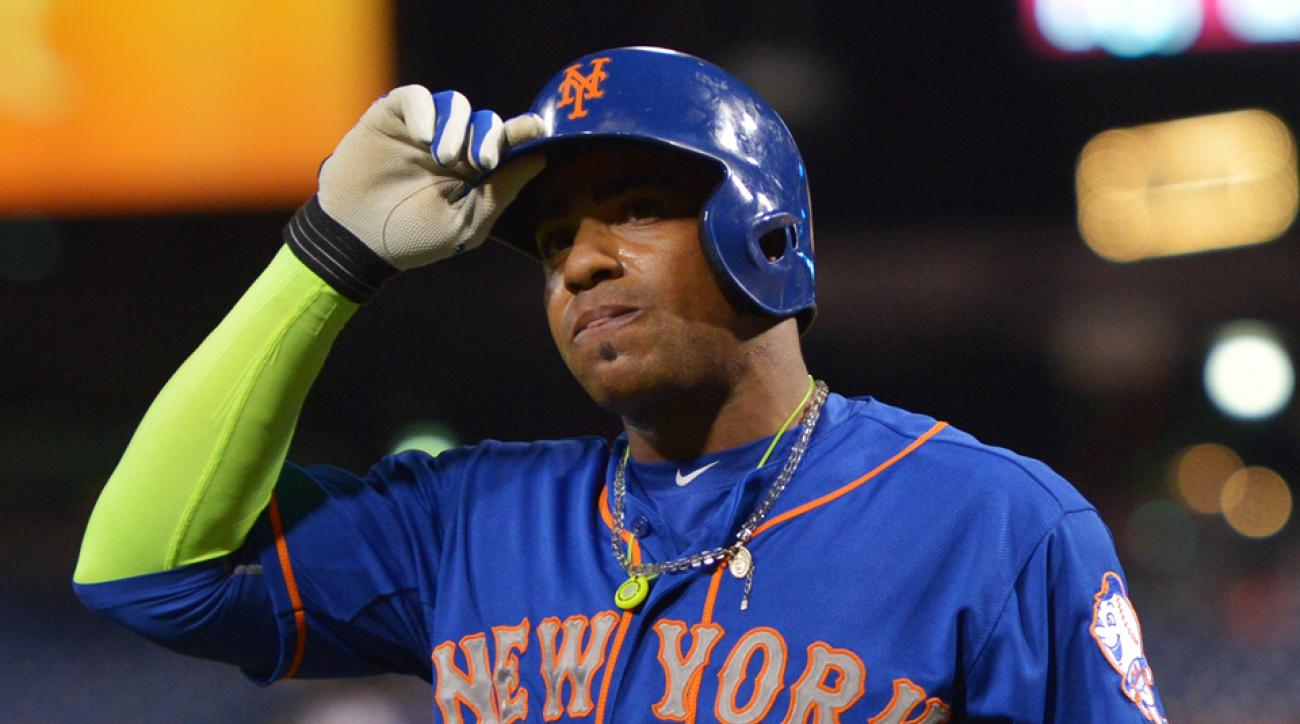 yoenis cespedes arm sleeve new york mets