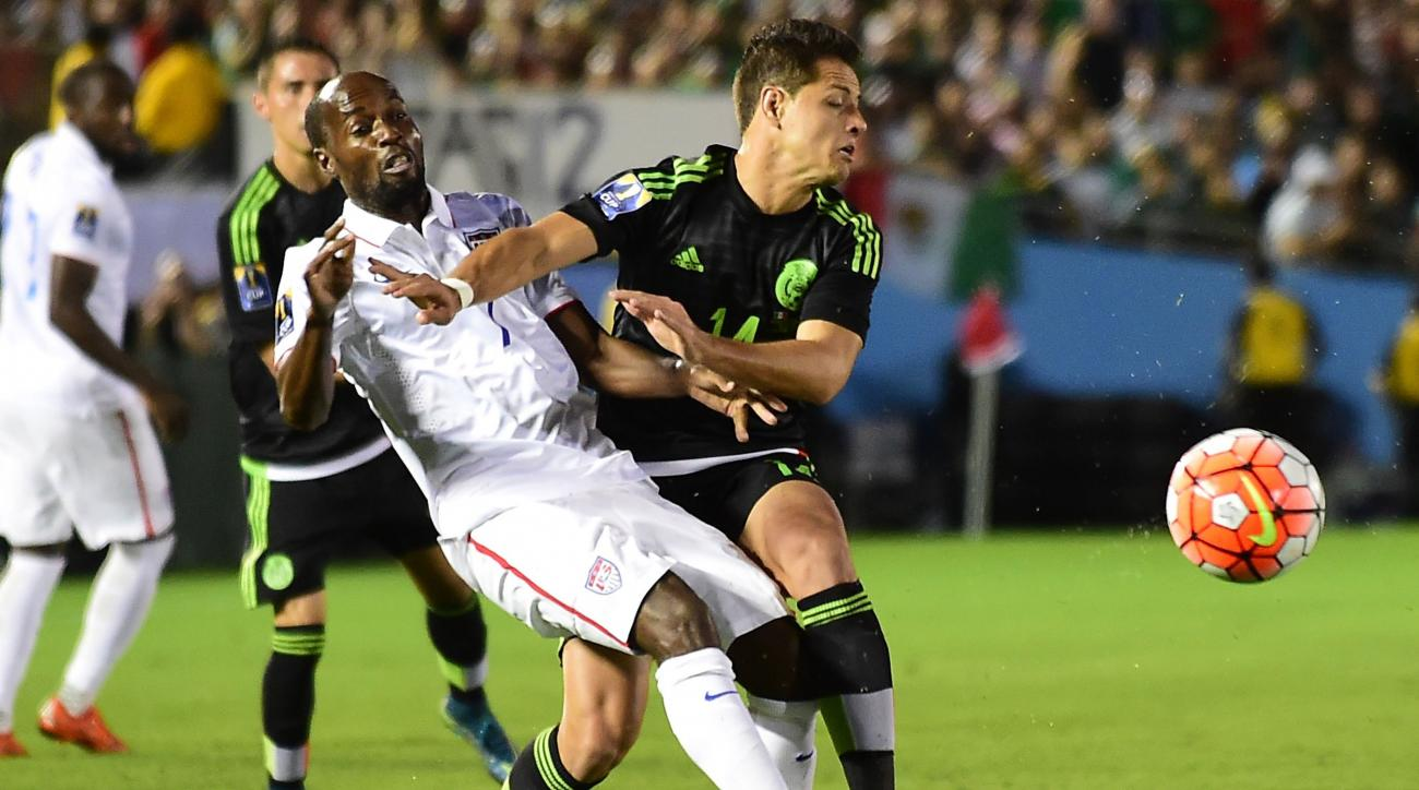 usa mexico concacaf cup chicharito goal video
