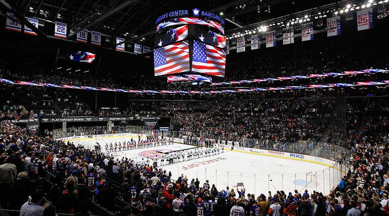 New York Islanders Barclays's Center