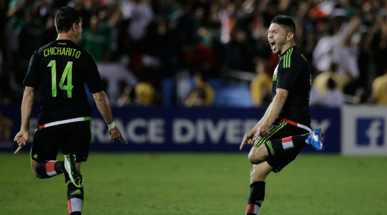 oribe peralta usa mexico goal concacaf video