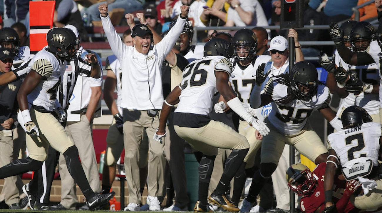 boston college wake forest end game video