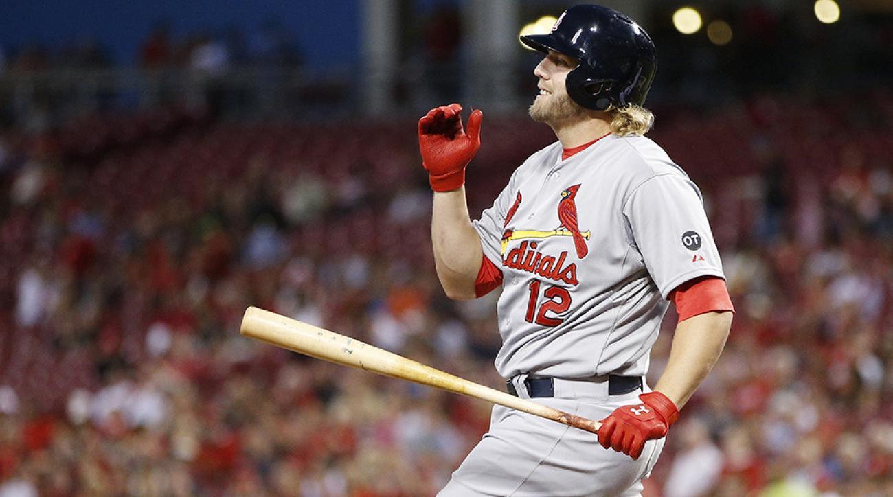 cardinals mark reynolds home run broken window wrigley
