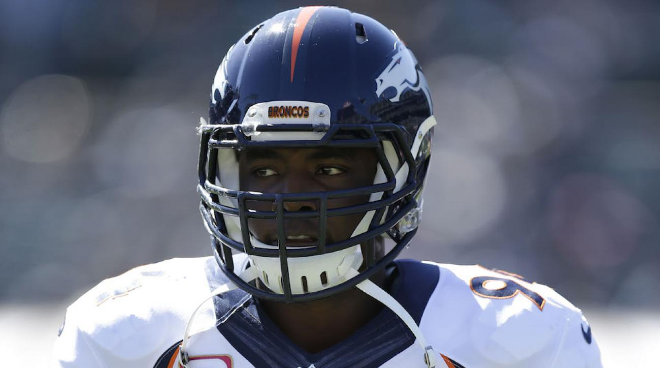 denver broncos demarcus ware carted off