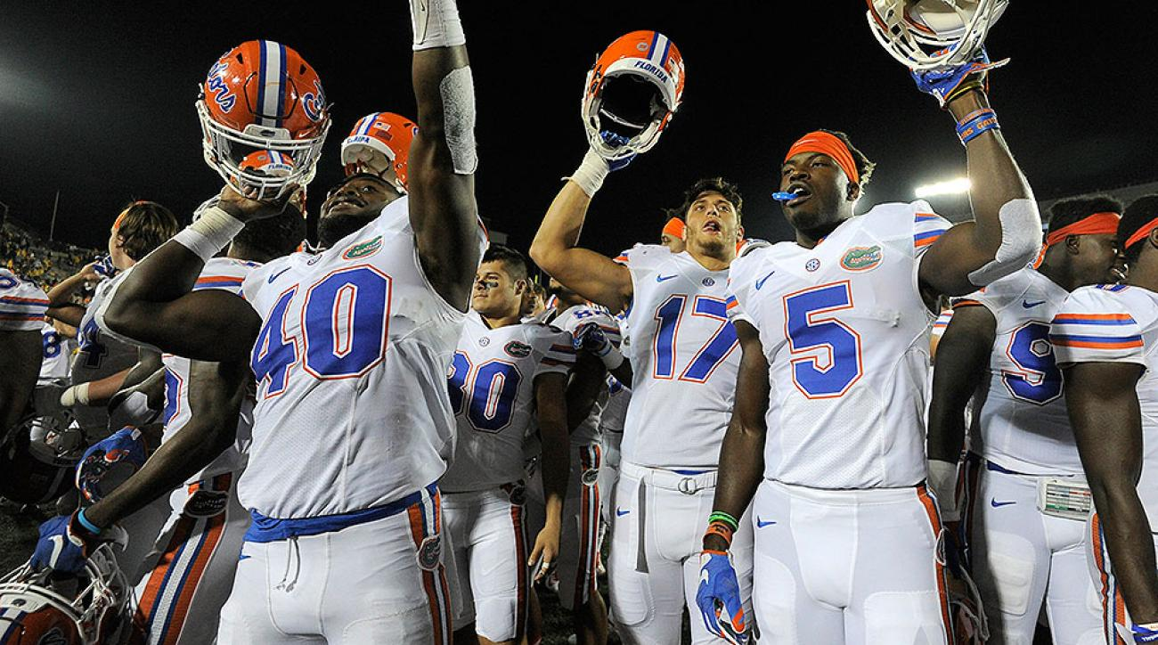 Florida football ap top 25 poll