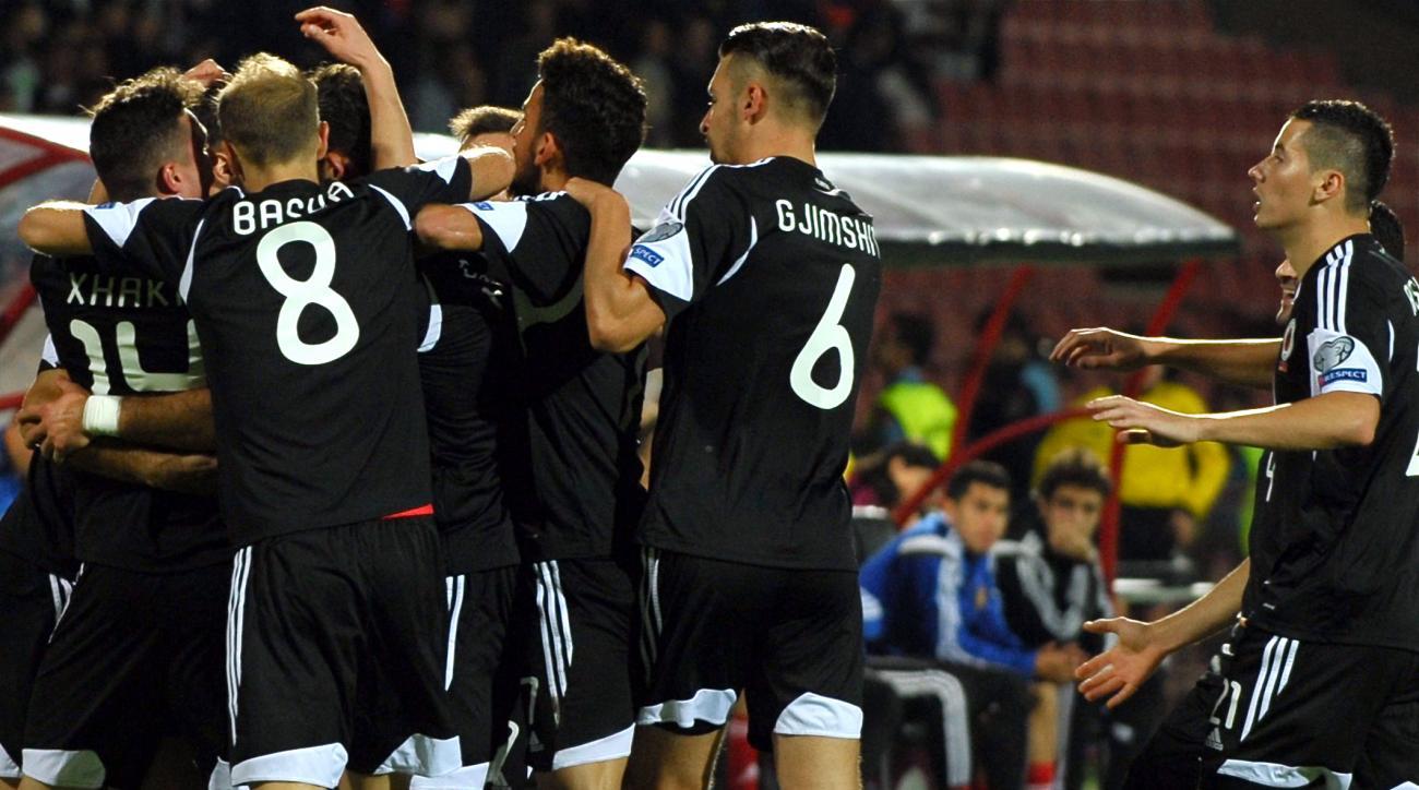 Albania Euro qualifiers