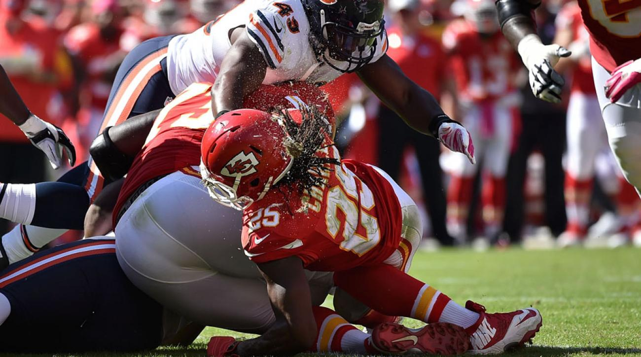 nfl week 5 injury news chiefs jamaal charles