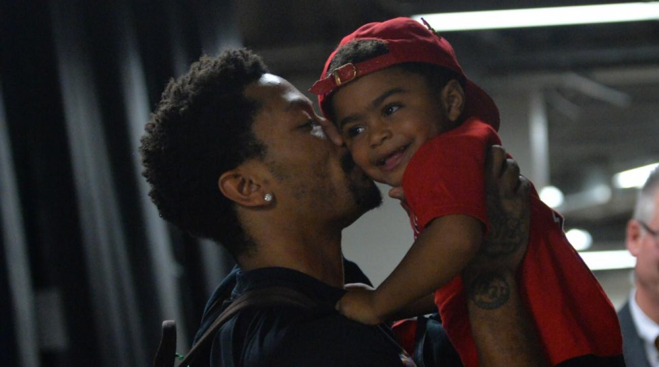 Chicago Bulls' Derrick Rose son had a Ninja Turtle birthday party