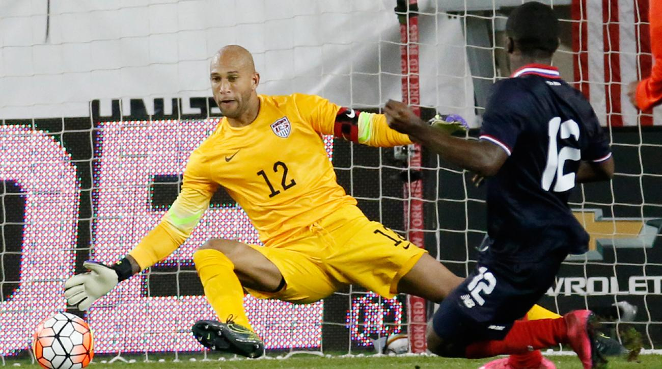 Tim Howard, Joel Campbell, USA vs. Costa Rica