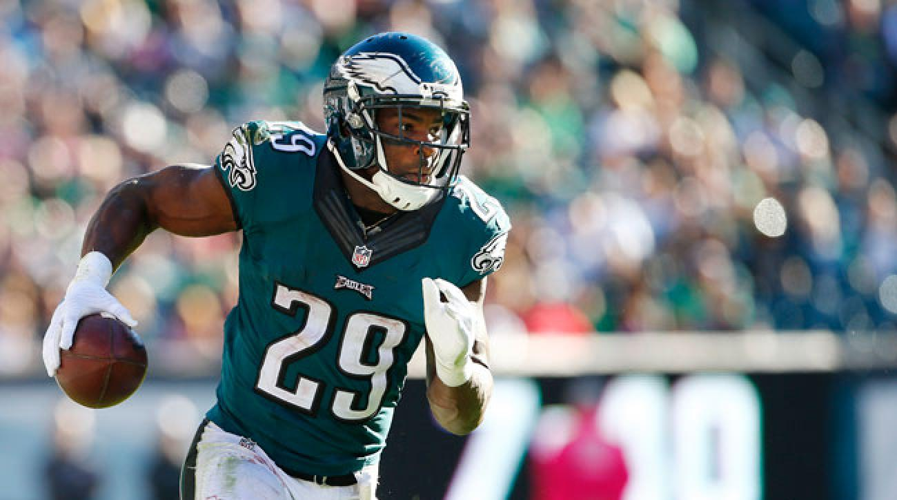 Philadelphia Eagles running back DeMarco Murray.