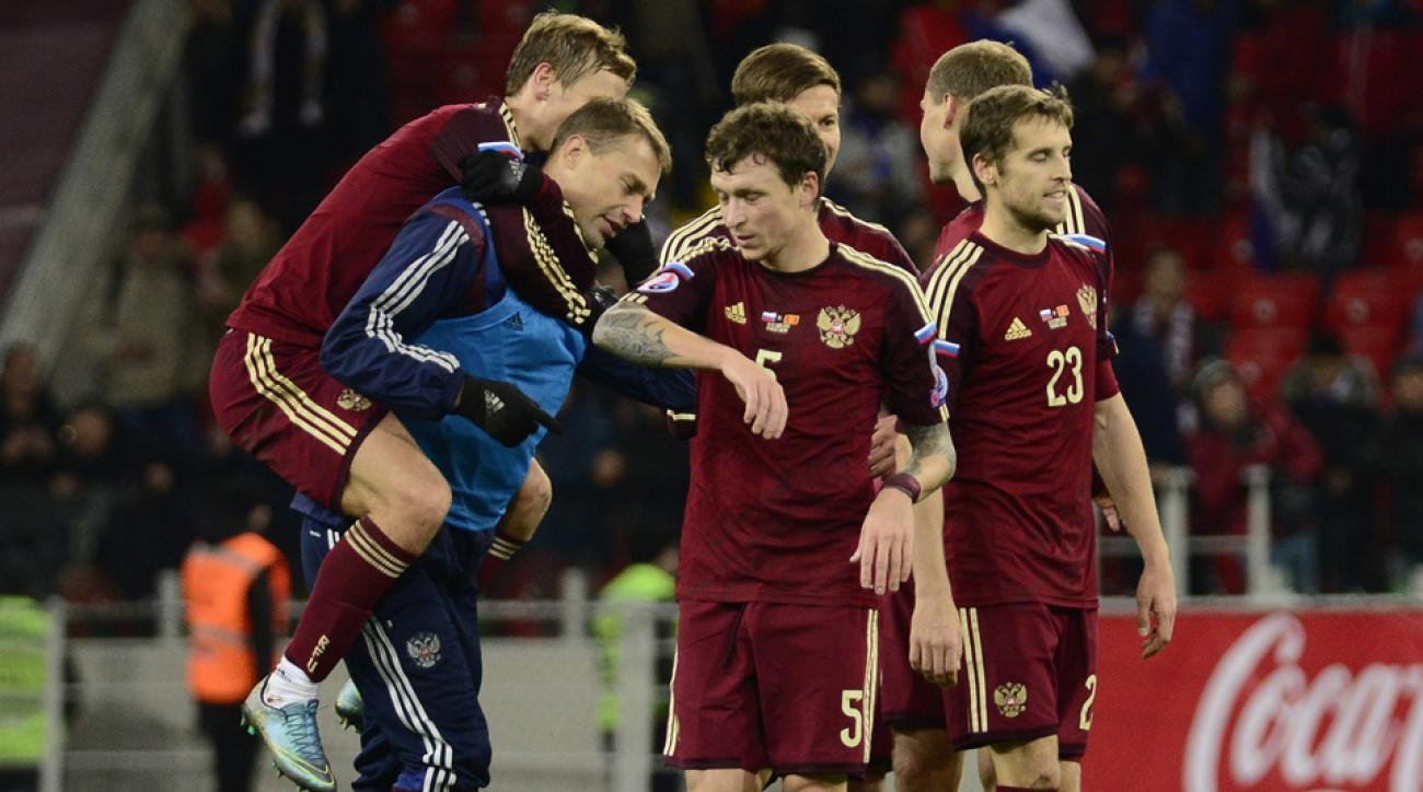 Russia qualifies for Euro 2016