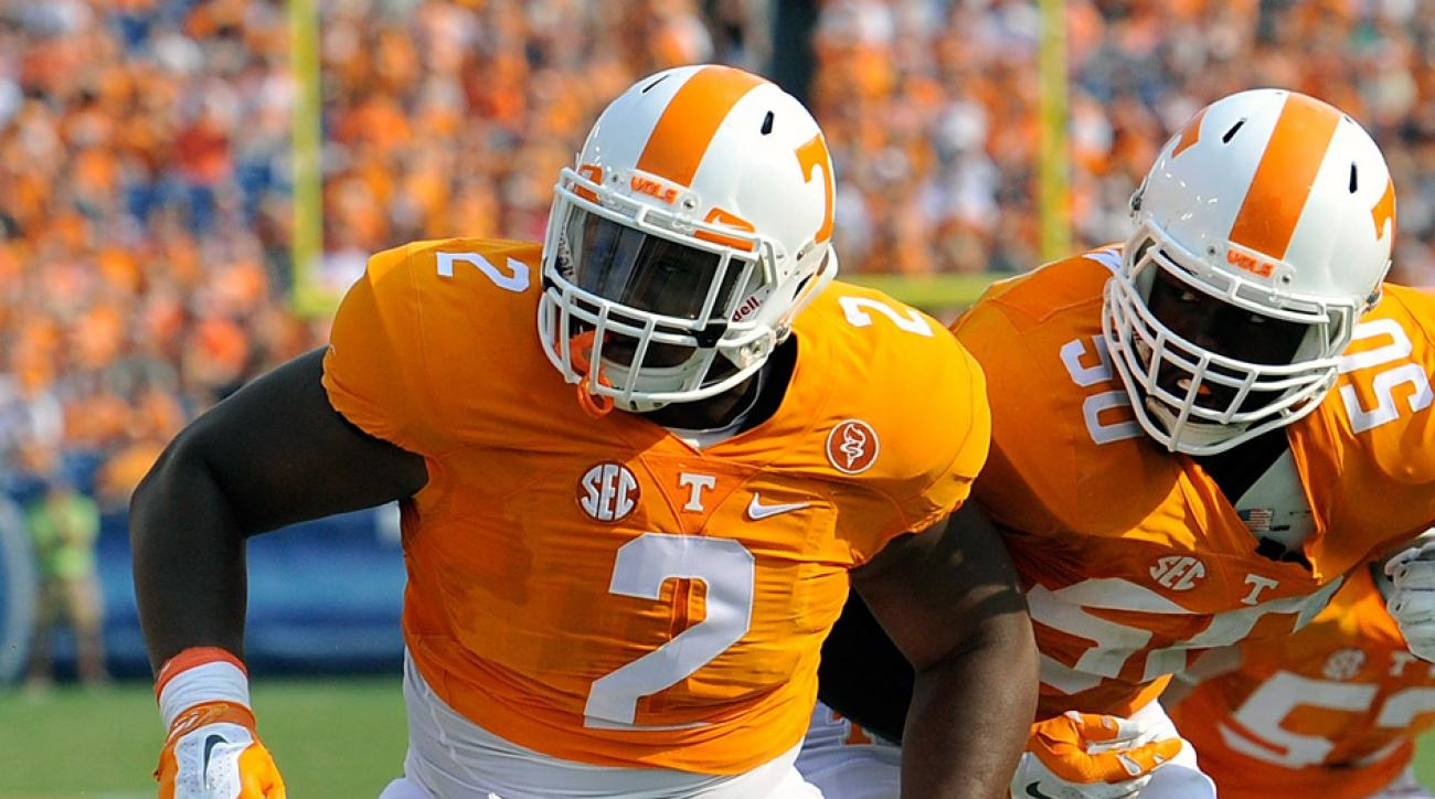 shy tuttle tennessee vols out season injury
