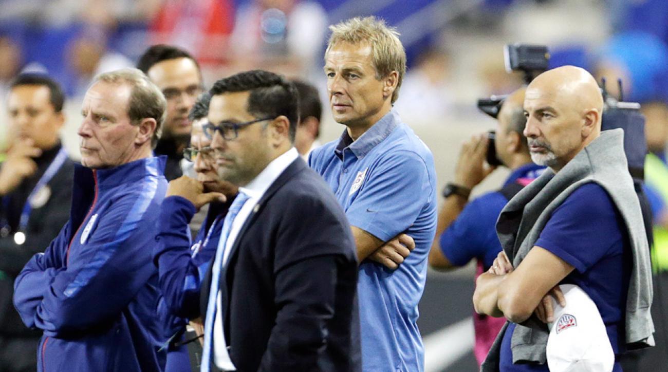 Jurgen Klinsmann, U.S. Soccer struggling.