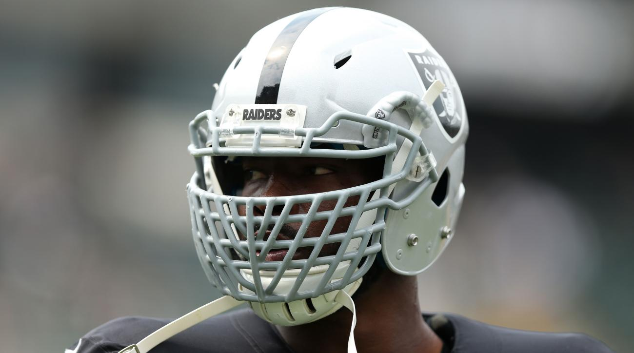 justin tuck oakland raiders injury out