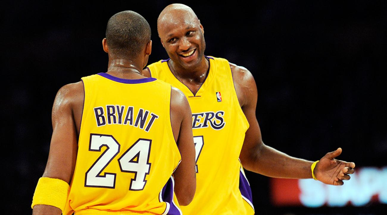 Lamar Odom hospitalized NBA players teammates react on Twitter