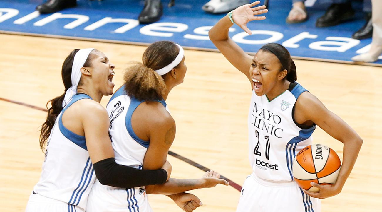Maya Moore, Minnesota Lynx beat the Indiana Fever to win the WNBA Finals.
