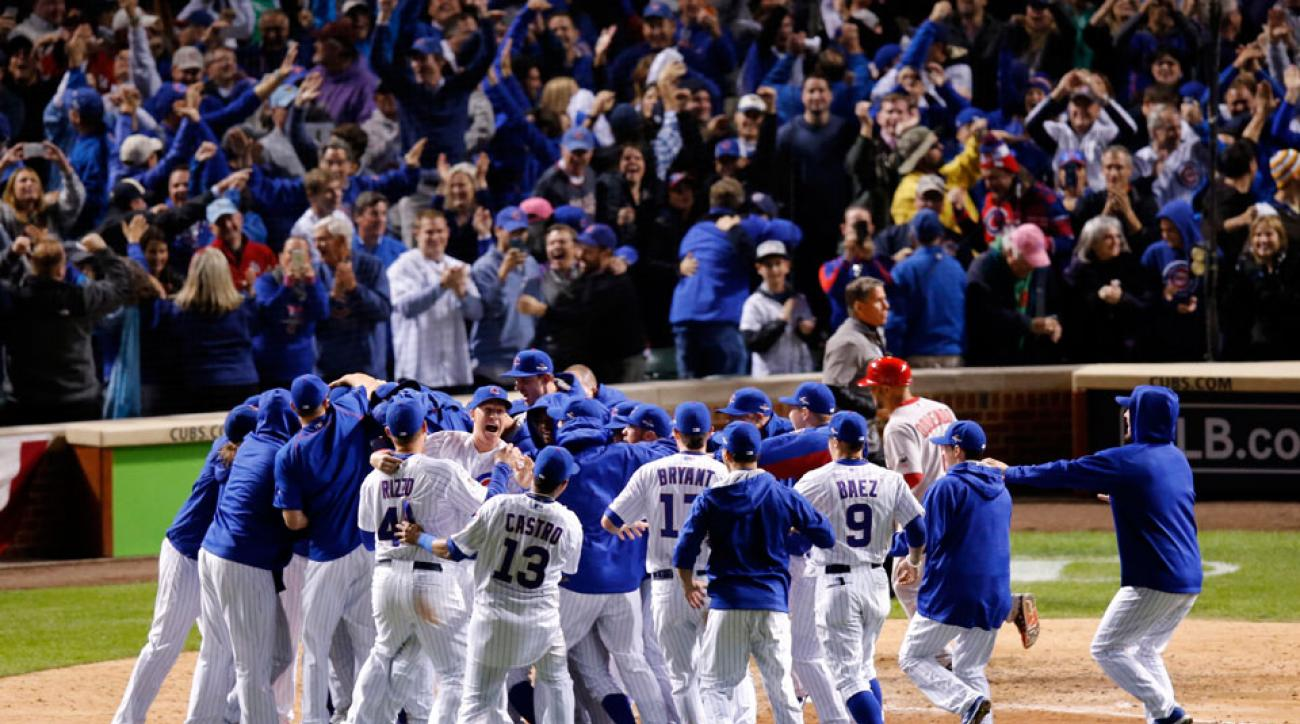 world series odds: cubs favored to win 2015 world series | si