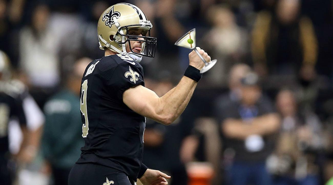 New Orleans Saints - Atlanta Falcons Thursday Night football drinking game