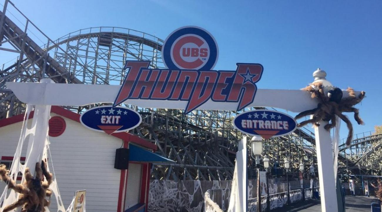 Chicago Cubs have a roller coaster named after them in St. Louis