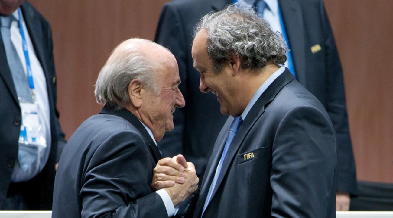 fifa sepp blatter michel platini payment gentlemans agreement