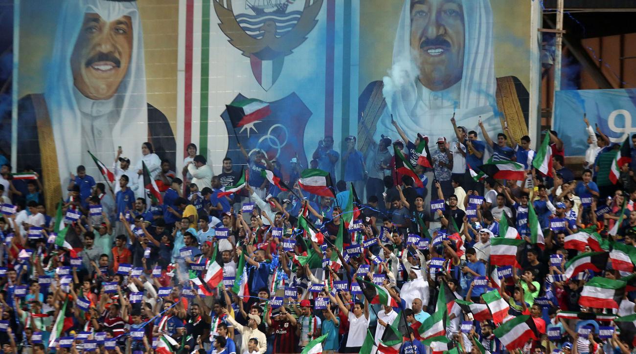 fifa suspends kuwait football association