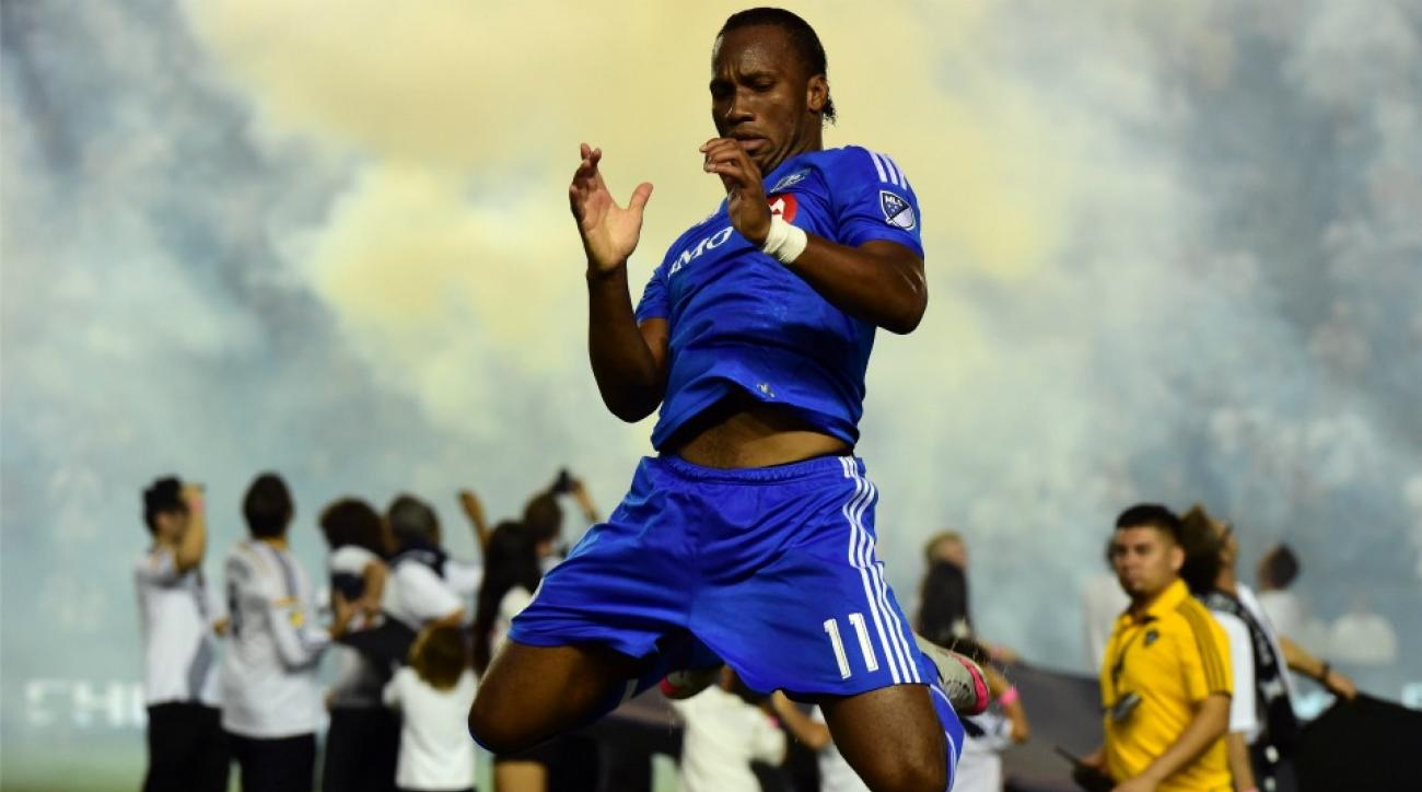 Montreal Impact's Didier Drogba loses his mind watching youth player breakdance