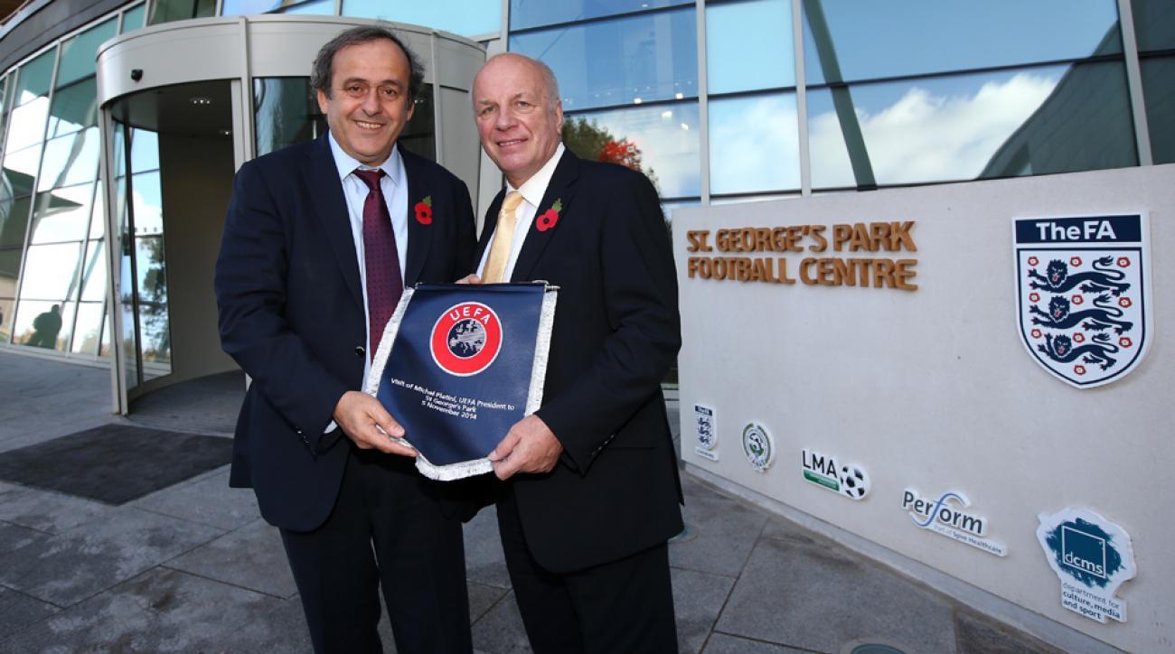 Michel Platini, England FA