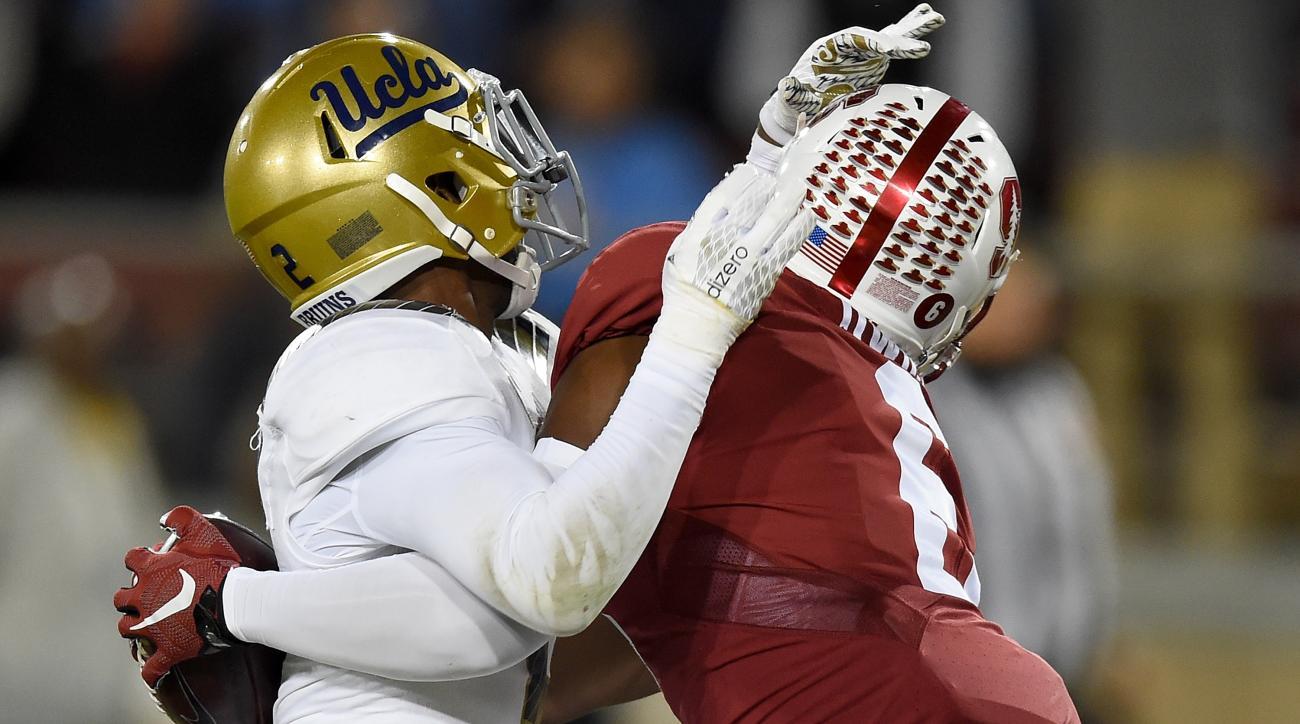 Stanford WR Francis Owusu makes crazy catch vs. UCLA