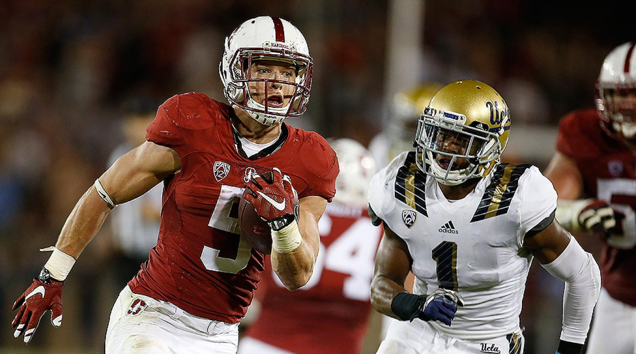 Stanford Christian McCaffrey vs UCLA