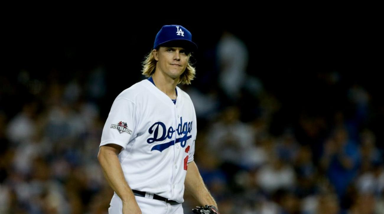 Los Angeles Dodgers Zack Greinke plans to opt out of his contract